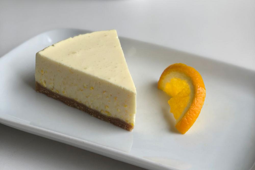Чизкейк апельсиновый